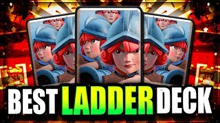 NEW LADDER BEAST!! UNSTOPPABLE 3 MUSKETEERS DECK! Clash Royale Arena 12 Deck