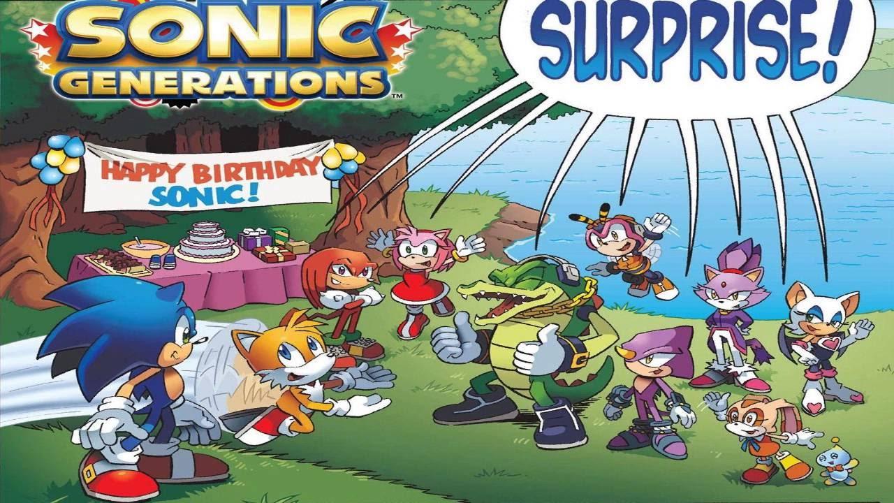 generations sonic the hedgehog comic dub youtube