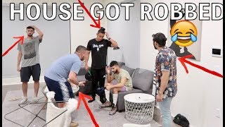 HILARIOUS HOUSE ROBBERY PRANK!! (POLICE CALLED)