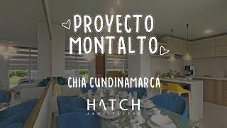 ANIMACIÓN ARQUITECTÓNICA : Proyecto: Montalto - Chía (Cundinamarca) HATCH ARQUITECTOS.📐🏢💯🚩