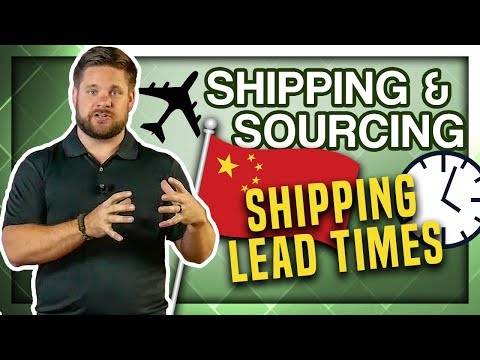 What Is The Transit Time For A Package / Shipment From China For FBA / Private Label?