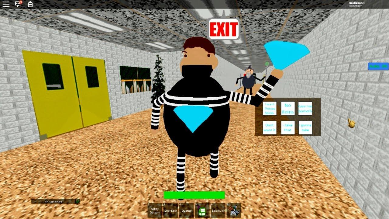 Baldi Bully Roblox Bully The Diamond Thief Baldi S Roblox Youtube