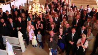 Incredible wedding video! Was made just 20 minutes before the bride arrived to the church!