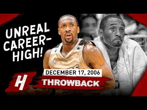 Gilbert Arenas dropping 60/8/8 at the Staples Center (2006.12.17)
