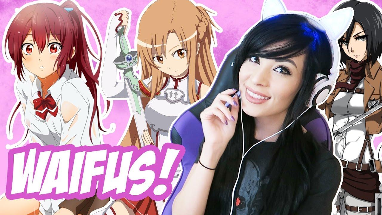 Best Anime Waifus! - YouTube