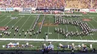 Cal Band Boy Band Show