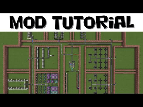 Large AE2 Network Design Guide - Applied Energistics 2 Tutorial #17 (MC 1.7.10)