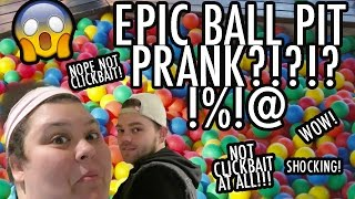 EPIC BALL PIT PRANK (FILLED HIS HOUSE!!)