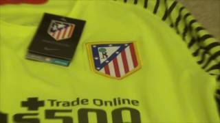 Elmontyouthsoccer.com Atletico Madrid Goalkeeper Jersey 16/17 Unboxing Review