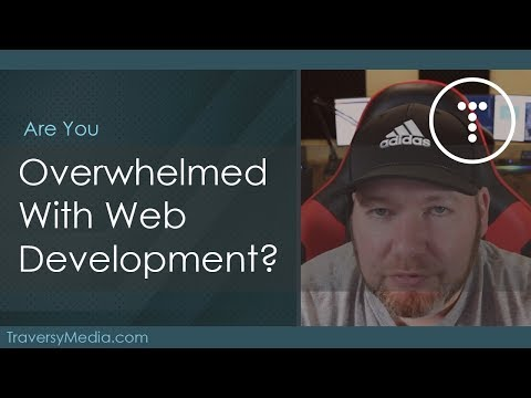 Overwhelmed With Web Development Technology