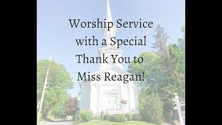8/30/20 Worship Service, First Church Sandwich