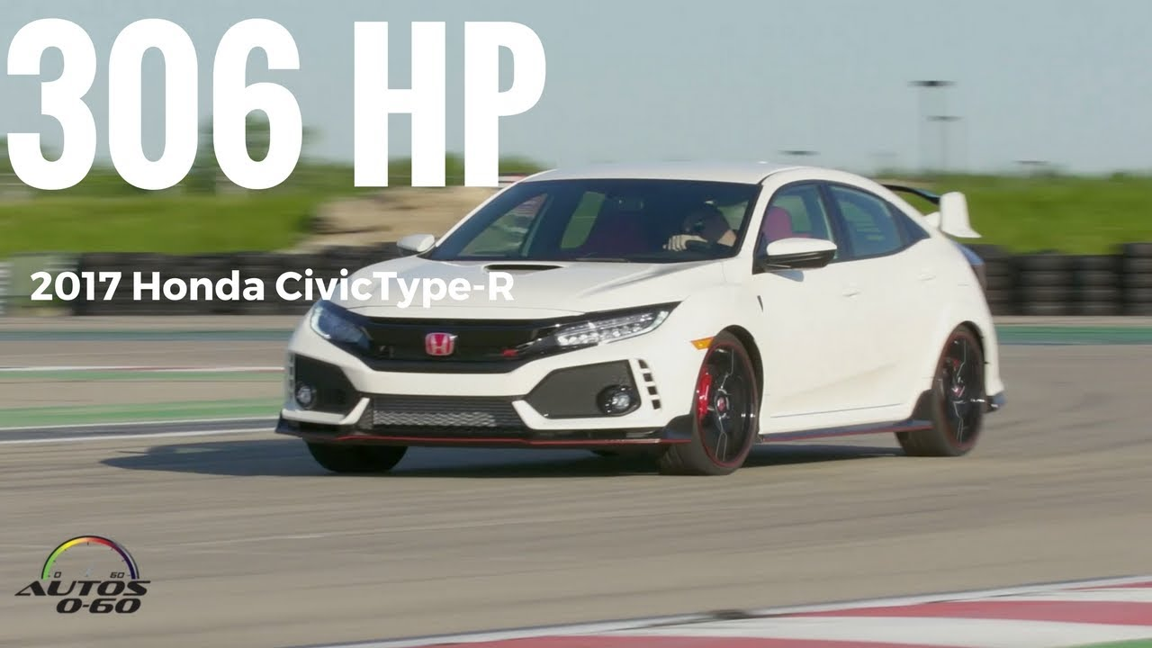 2017 Honda Civic Type R 1st Look On The Race Track Youtube