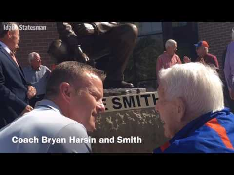 Lyle Smith Statue Unveiling