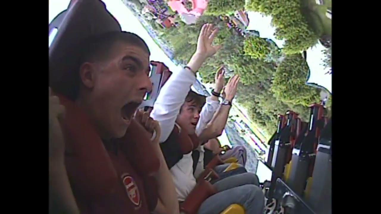 Slammer at Thorpe Park!  Remember this CRAZY Ride???