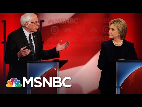 Bernie Sanders, Hillary Clinton Spar Over Being A Progressive | Democratic Debate | MSNBC