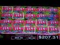 Sweet Skulls Slot Machine Bonus - 12 Free Games with Stacked Wilds - SUPER BIG WIN (#2)