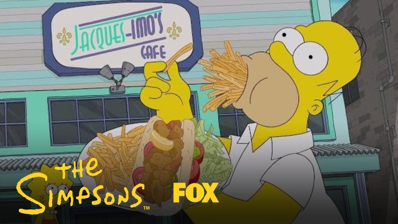 Two Simpsons Fans Cleverly Recreate Montage of Homer Simpson Eating His Way  Through New Orleans