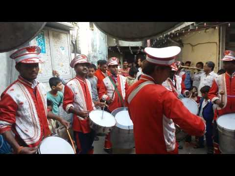 Taj ka sandal song played by sargam brass band 9820096311