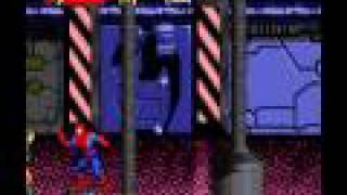 SNES Longplay [098] Spiderman & Venom-Separation Anxiety
