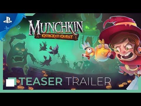 Munchkin: Quacked - Announcement Trailer   PS4