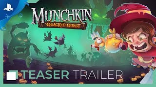 Munchkin: Quacked - Announcement Trailer | PS4