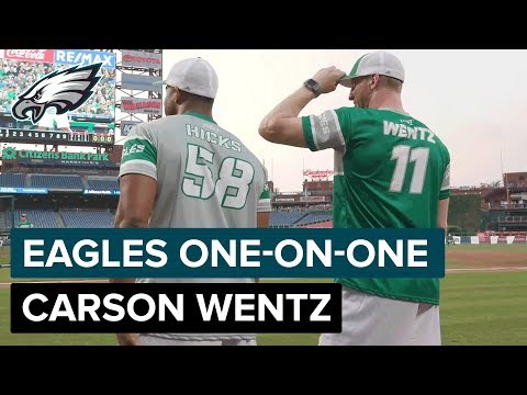 Carson Wentz on Accepting Challenges & How Doug Pederson Has Grown as HC   Eagles One-On-One