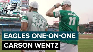 Carson Wentz on Accepting Challenges & How Doug Pederson Has Grown as HC | Eagles One-On-One
