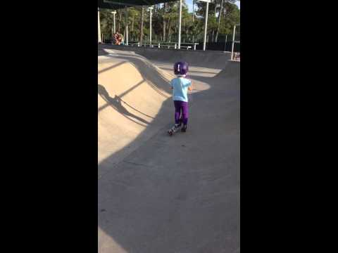 Jasmyn - Age 3 - Jacksonville Beach, FL - March 2015 - Scooter