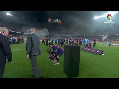 FC Barcelona campeon de Liga 2018-2019