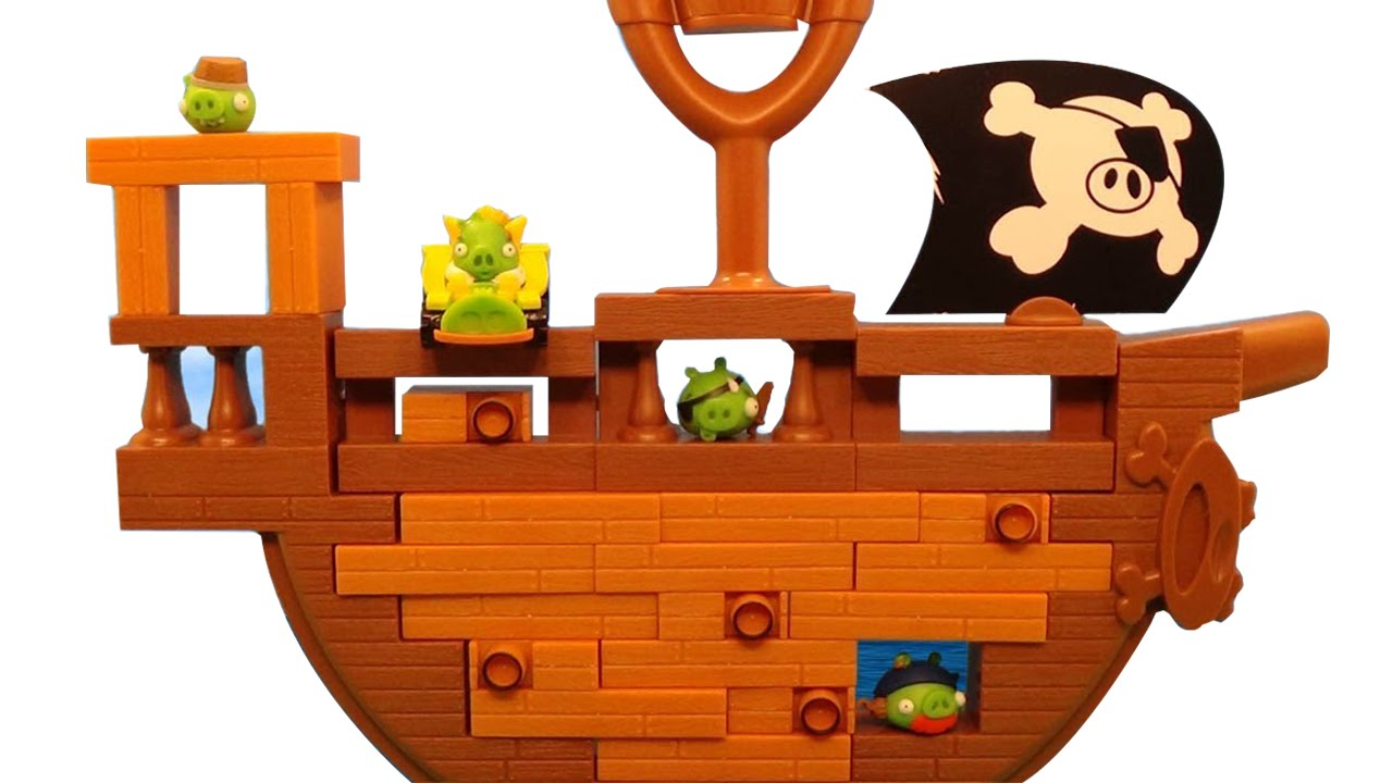 Angry Birds Go Jenga Pirate Pig Attack Bombing Speed Cars Game Rh Youtube Com Coloring Pages Red Bird Clip Art