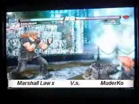 Tekken 6BR Battle Of The Pros Part 1 (MLawx vs JRH , MKO , SMEx , DKM)