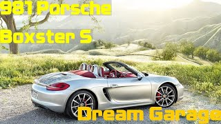 homepage tile video photo for Dream Convertible: 981 Porsche Boxster S (Dream Garage Series)