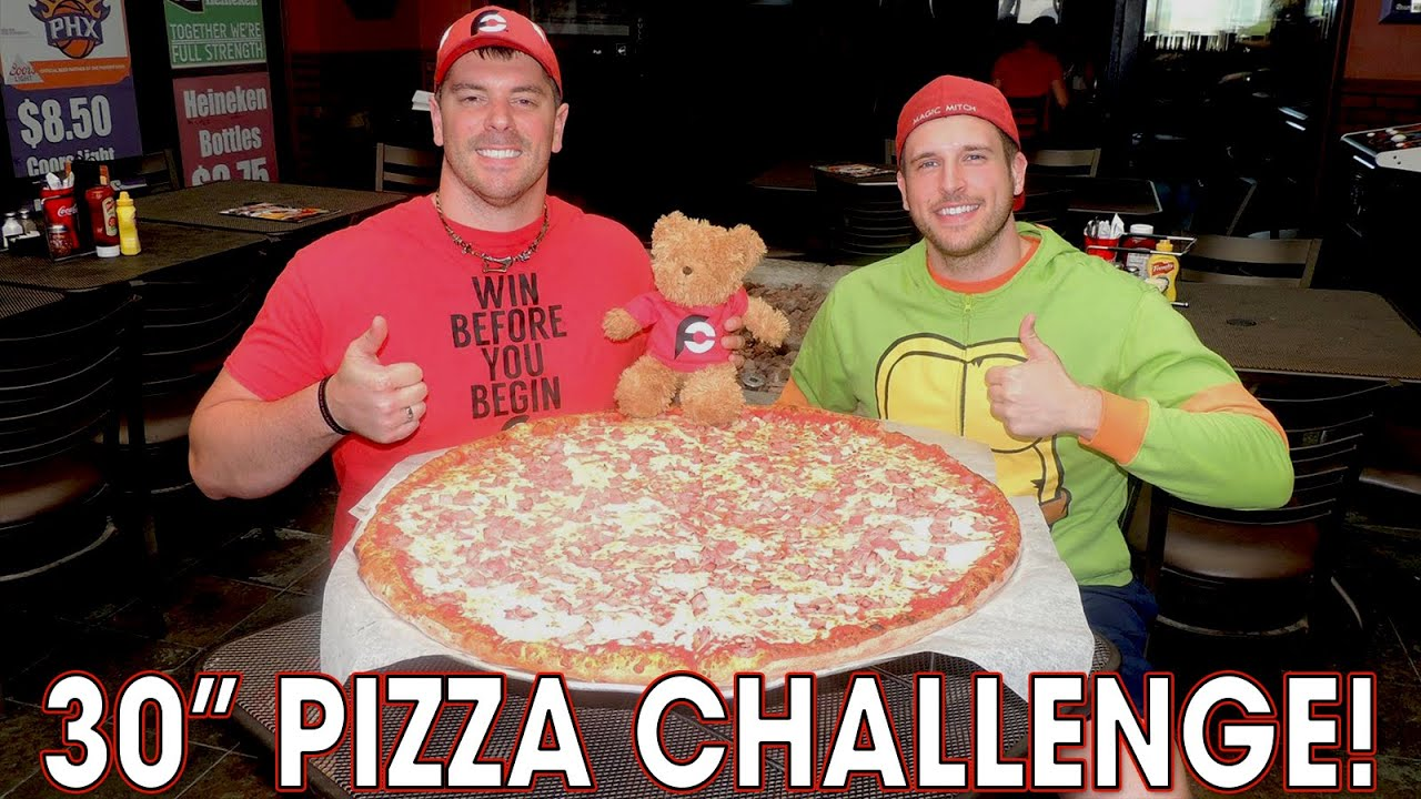 Download 30 Inch Team Pizza Challenge w/ Randy Santel!