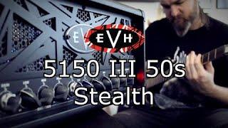 EVH 5150 III 50s Stealth 50 Watt Amplifier