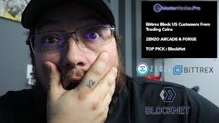 Bittrex Blocks US Masternode Coins | Zenzo Platform | BlockN…
