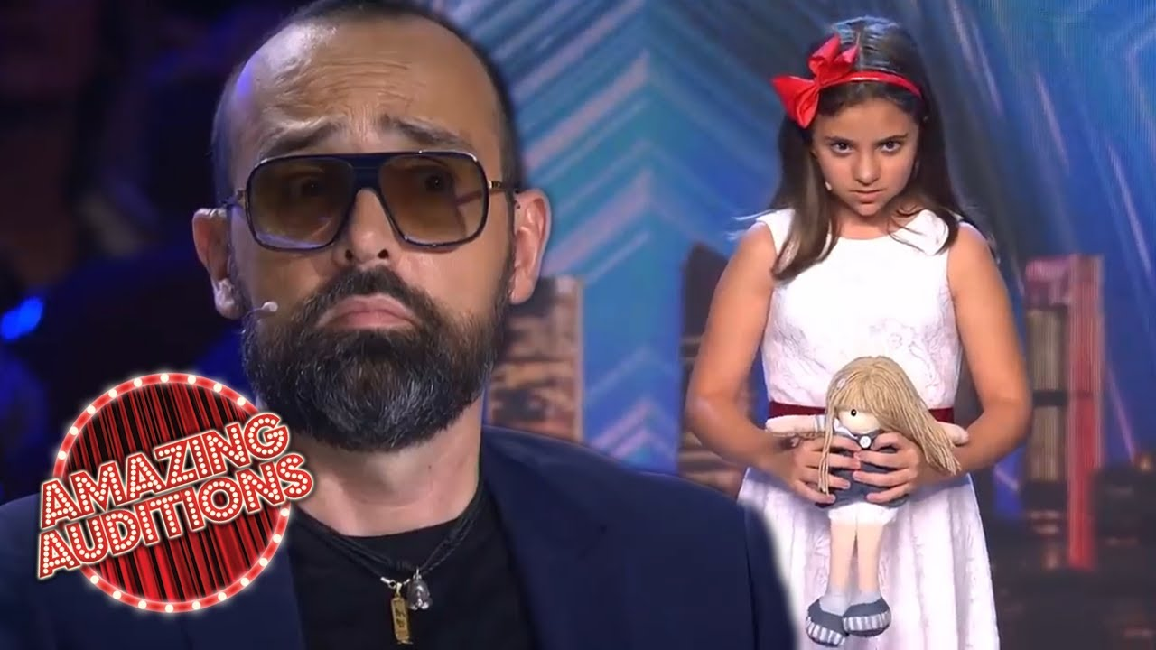 The Next SACRED RIANA - CREEPY Child Magician SCARES Judges | Amazing Auditions