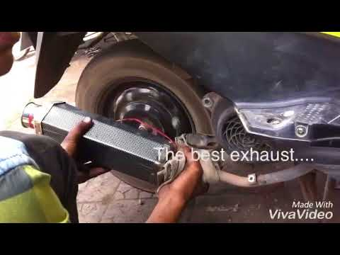 Best aftermarket exhaust system for bikes and scooters ( exhaust modification in my honda dio )