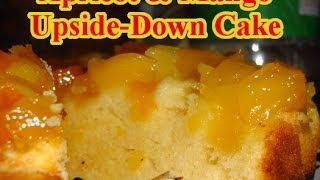 Robbie Makes Apricot & Mango Upside Down Cake