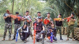LTT Nerf War : SEAL X Warriors Nerf Guns Fight Criminal Group Predatory Gold Button