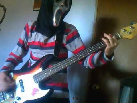 slipknot psychosocial bass cover