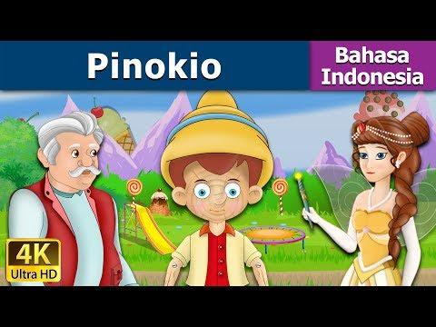 Pinokio - Dongeng bahasa Indonesia - Dongeng anak - 4K UHD - Indonesian Fairy Tales