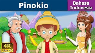 Video The Pinokio | Dongeng bahasa Indonesia | Dongeng anak | 4K UHD | Indonesian Fairy Tales download MP3, 3GP, MP4, WEBM, AVI, FLV Juli 2018