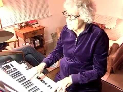 Great-Grandma Grace playing Amazing Grace