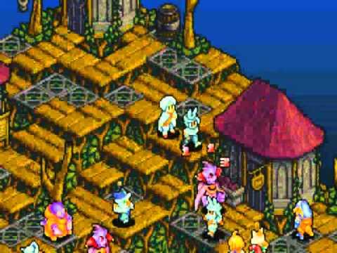 Final Fantasy Tactics Advance - Fighter Exhibition