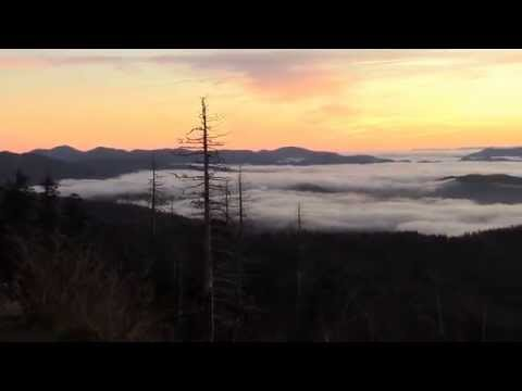 Clingmans Dome Sunrise Great Smoky Mountains