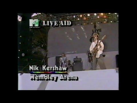 Medición delicadeza Derritiendo  Nik Kershaw - Don Quixote (MTV - Live Aid 7/13/1985) - YouTube
