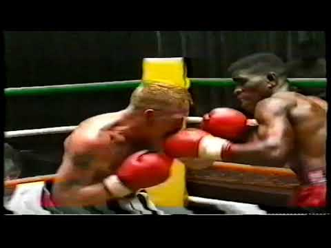 Hugh Davey V Peter Malinga 22nd October 1995