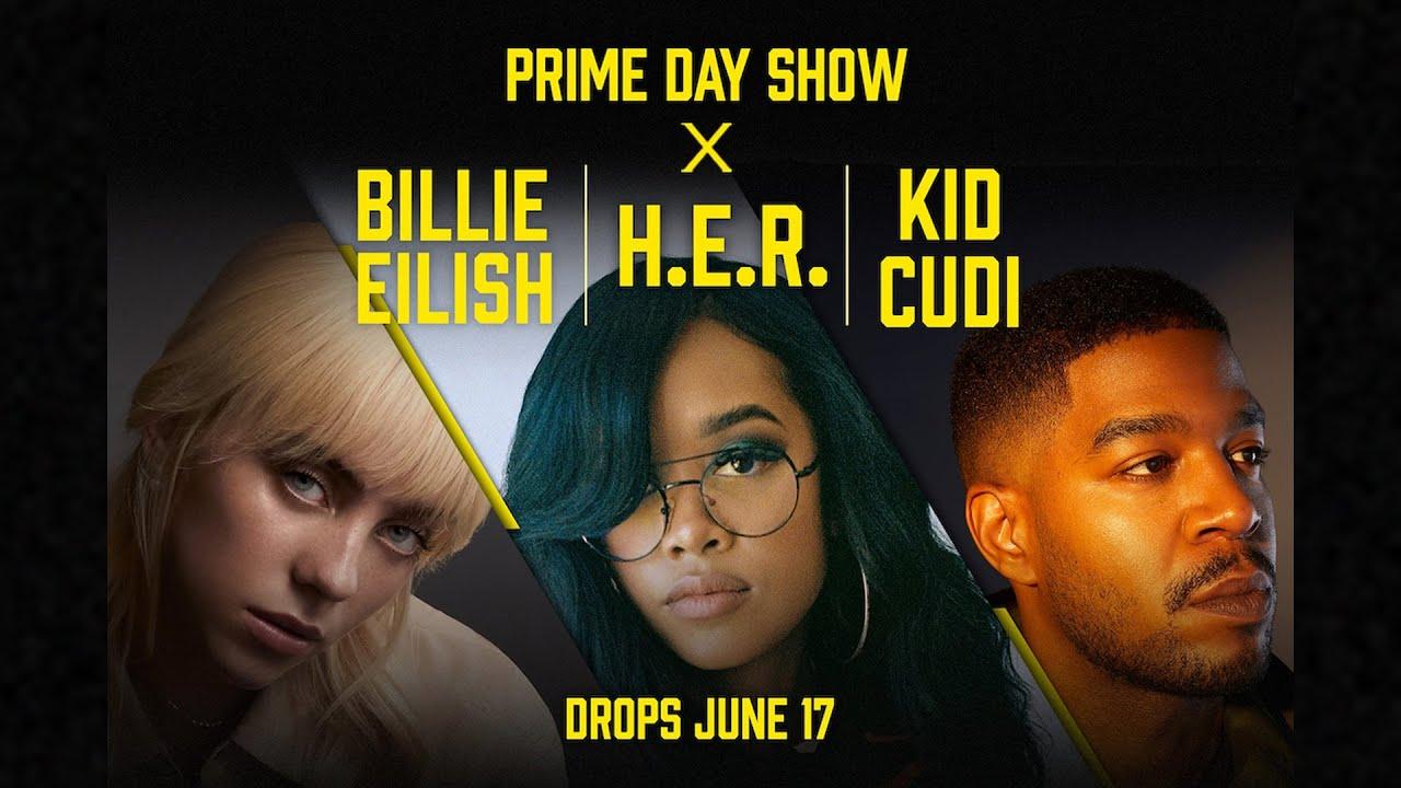 Prime Day Show 2021: Billie EIlish