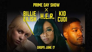 Prime Day Show 2021: Billie EIlish, H.E.R., and Kid Cudi - Official Trailer | Amazon Music