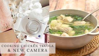 Cooking Chicken Tinola, Unboxing Sony ZV-1, Christmas Advent Calendars  Charmaine Dulak